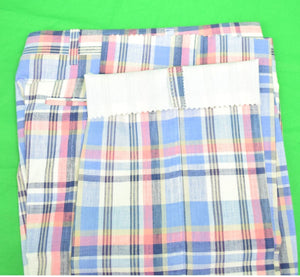 "O'Connell's GT India Madras Trousers Sz: 31""W New w/ Tag!"