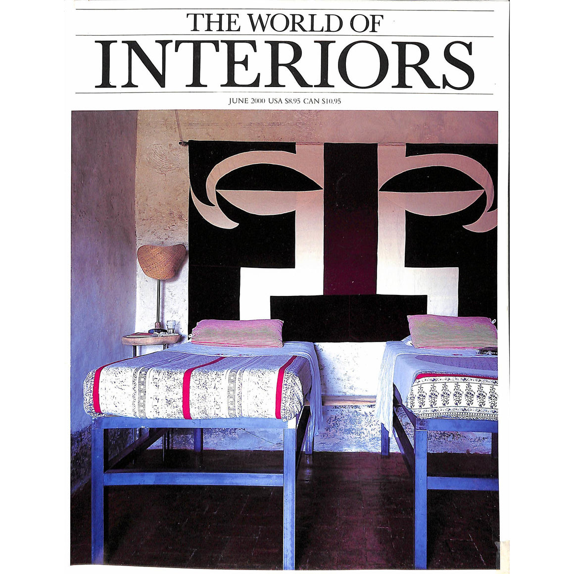 'The World of Interiors June 2000'