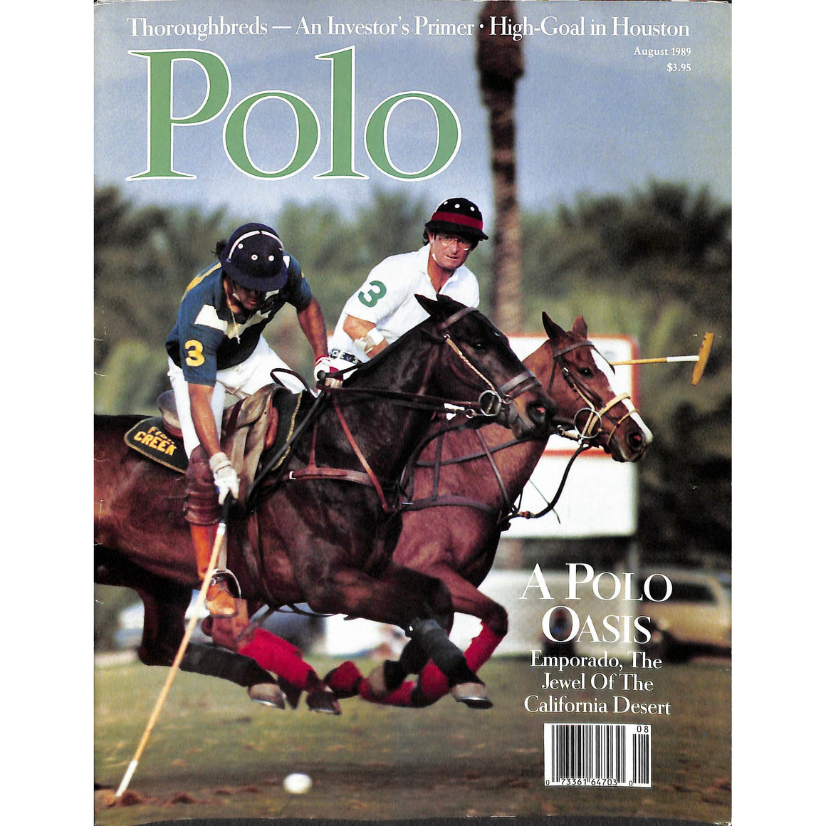 Polo Magazine August 1989