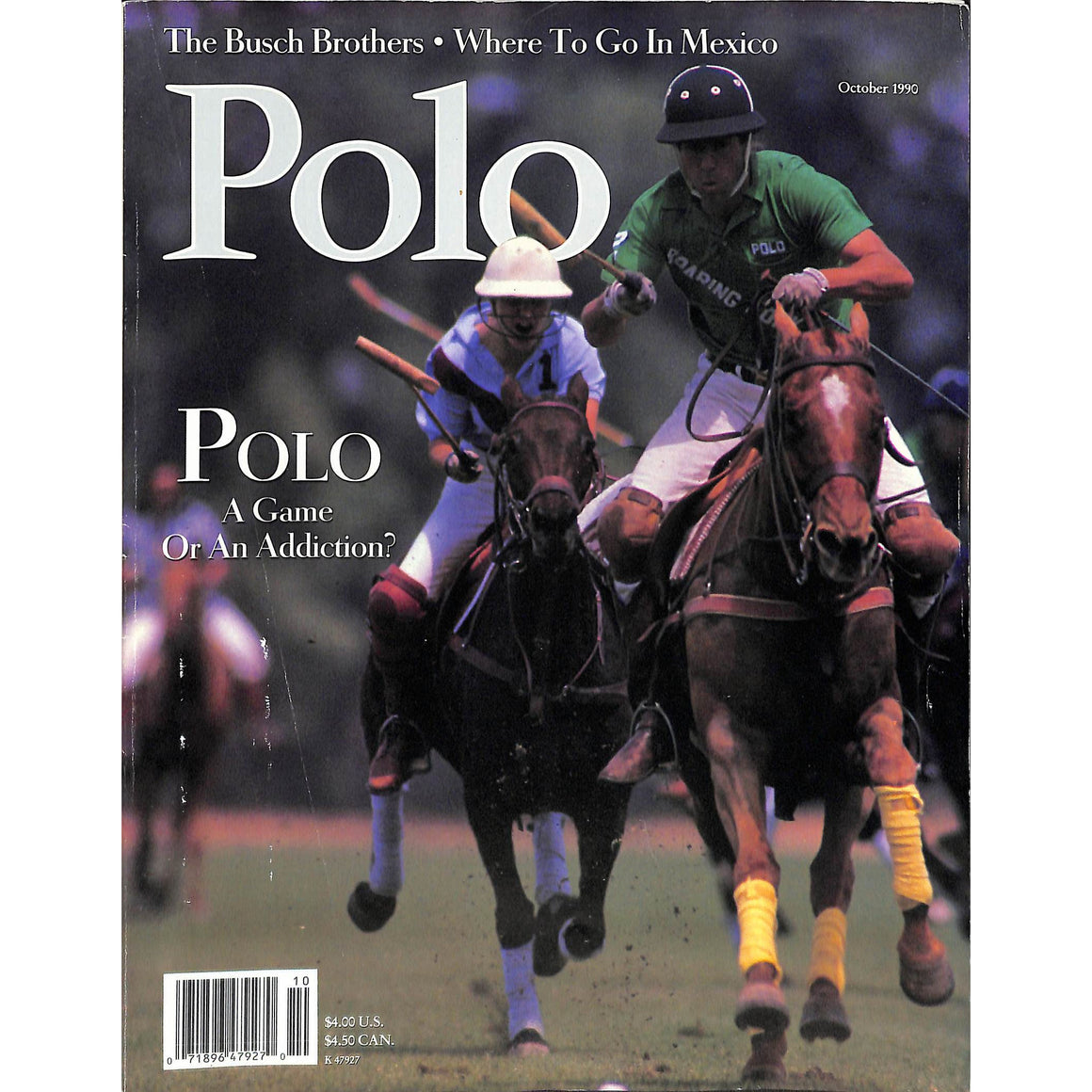 Polo Magazine October 1990