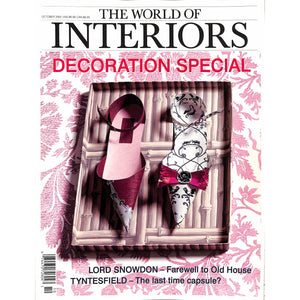The World of Interiors October 2002