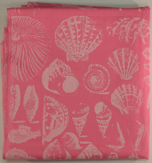 Lilly Pulitzer Pink 'Seashell' Print c.1960's Fabric