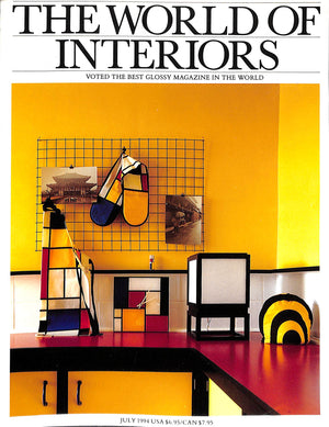 The World of Interiors: July 1994