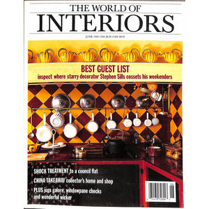 'The World of Interiors June 1996'