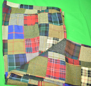 "The Andover Shop Patch Tweed/ Tartan Trousers Sz: 42""W"