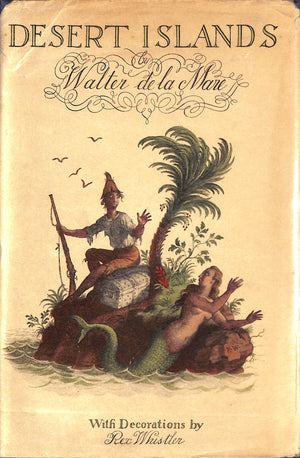 'Desert Islands' by Walter de la Mare w/ Decorations by Rex Whistler
