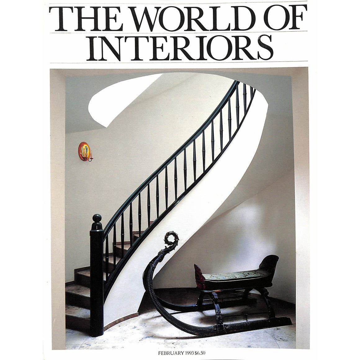 The World of Interiors February 1993 (SOLD!)