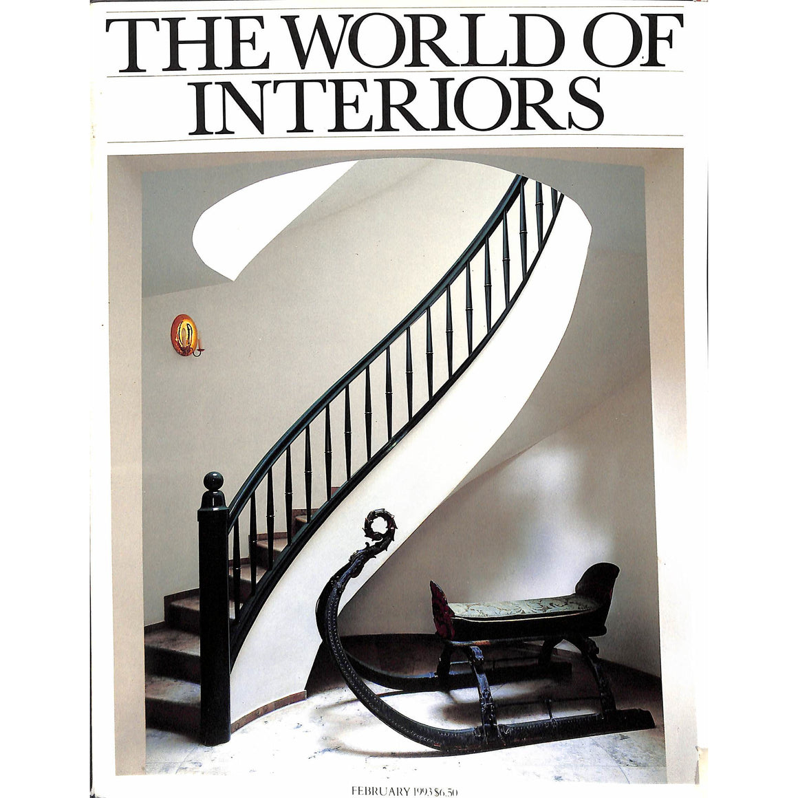 The World of Interiors February 1993