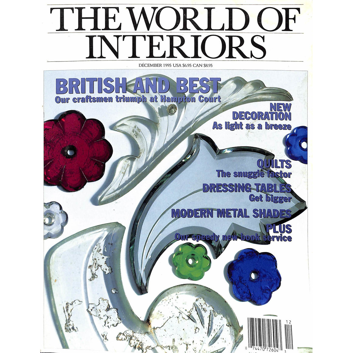 'The World of Interiors December 1995'