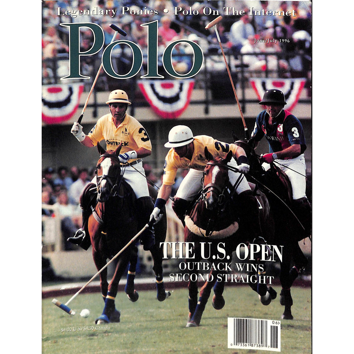 Polo Magazine June/July 1996