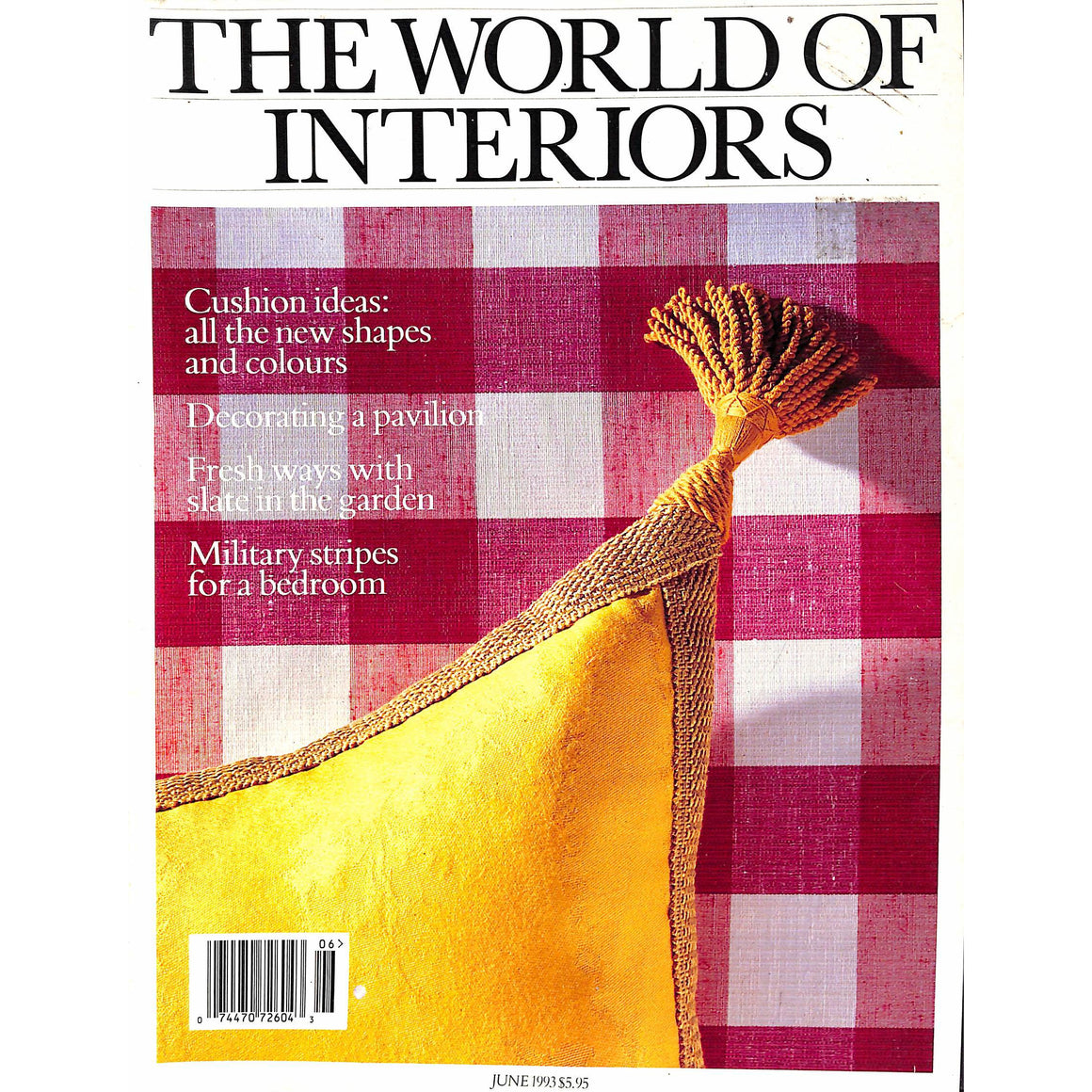 The World Of Interiors June 1993