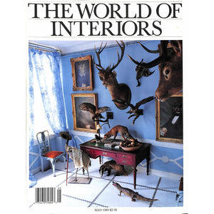 The World Of Interiors May 1989