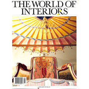 The World Of Interiors January 1993