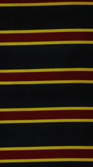 Brooks Brothers English Repp Stripe Silk Necktie Fabric in Navy/ Gold & Burg