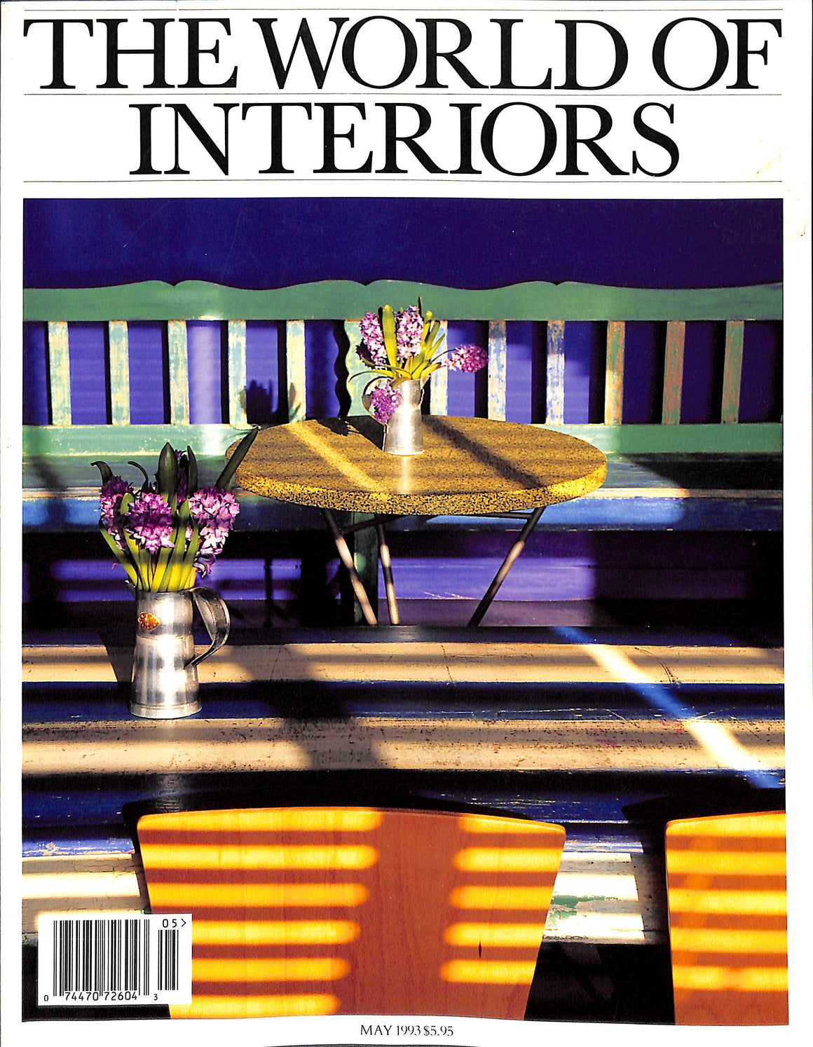 The World of Interiors: May 1993
