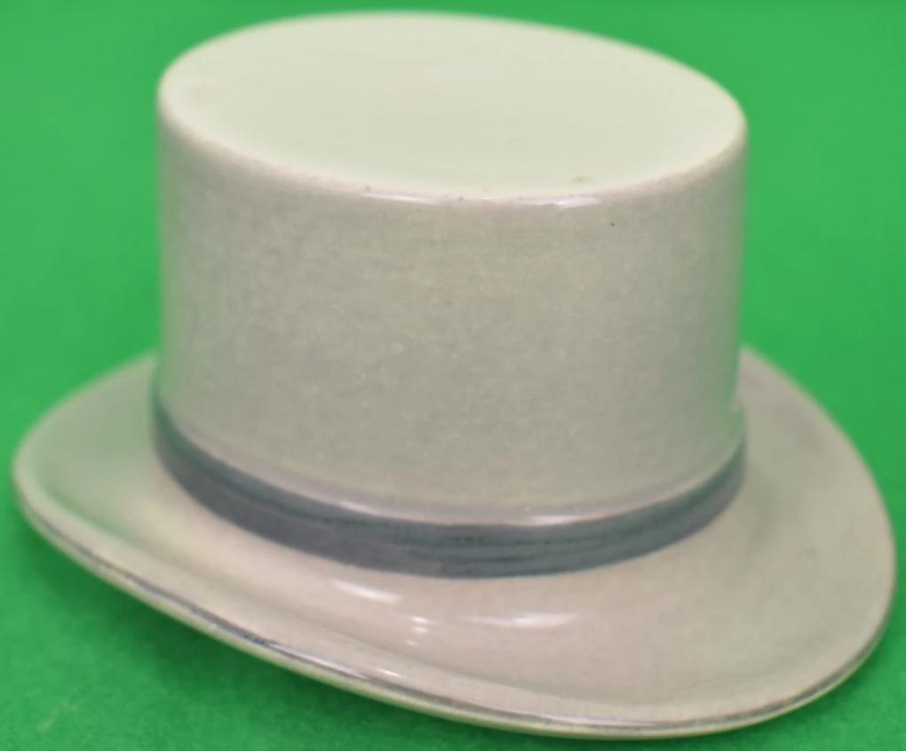 Porcelain Royal Ascot Top Hat Ashtray
