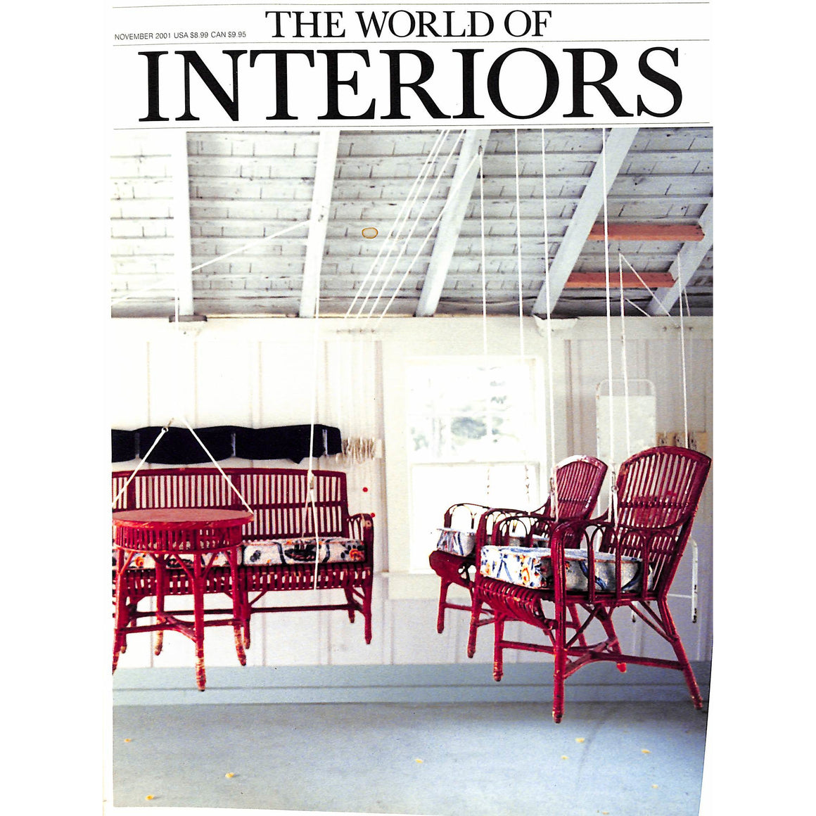 The World Of Interiors November 2001