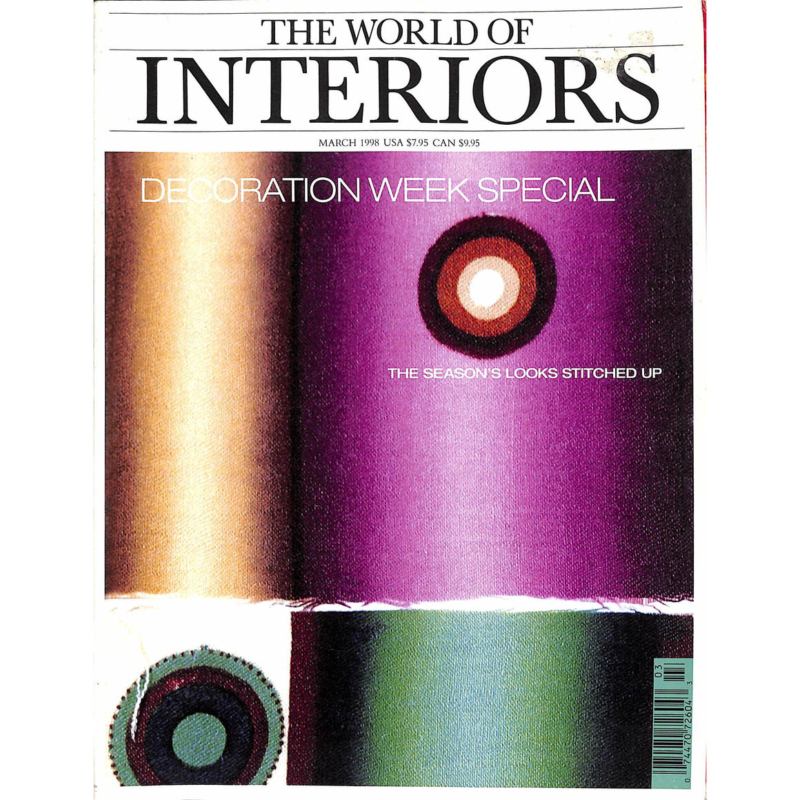 The World of Interiors March 1998
