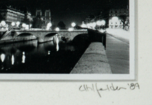 Ponte Vecchio B&W 1989 Photo by Eric Uhlfelder