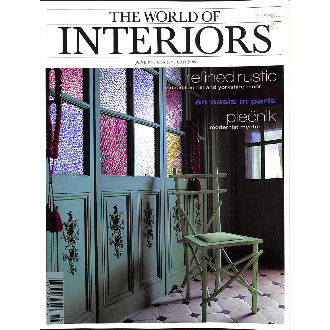 The World Of Interiors June 1998
