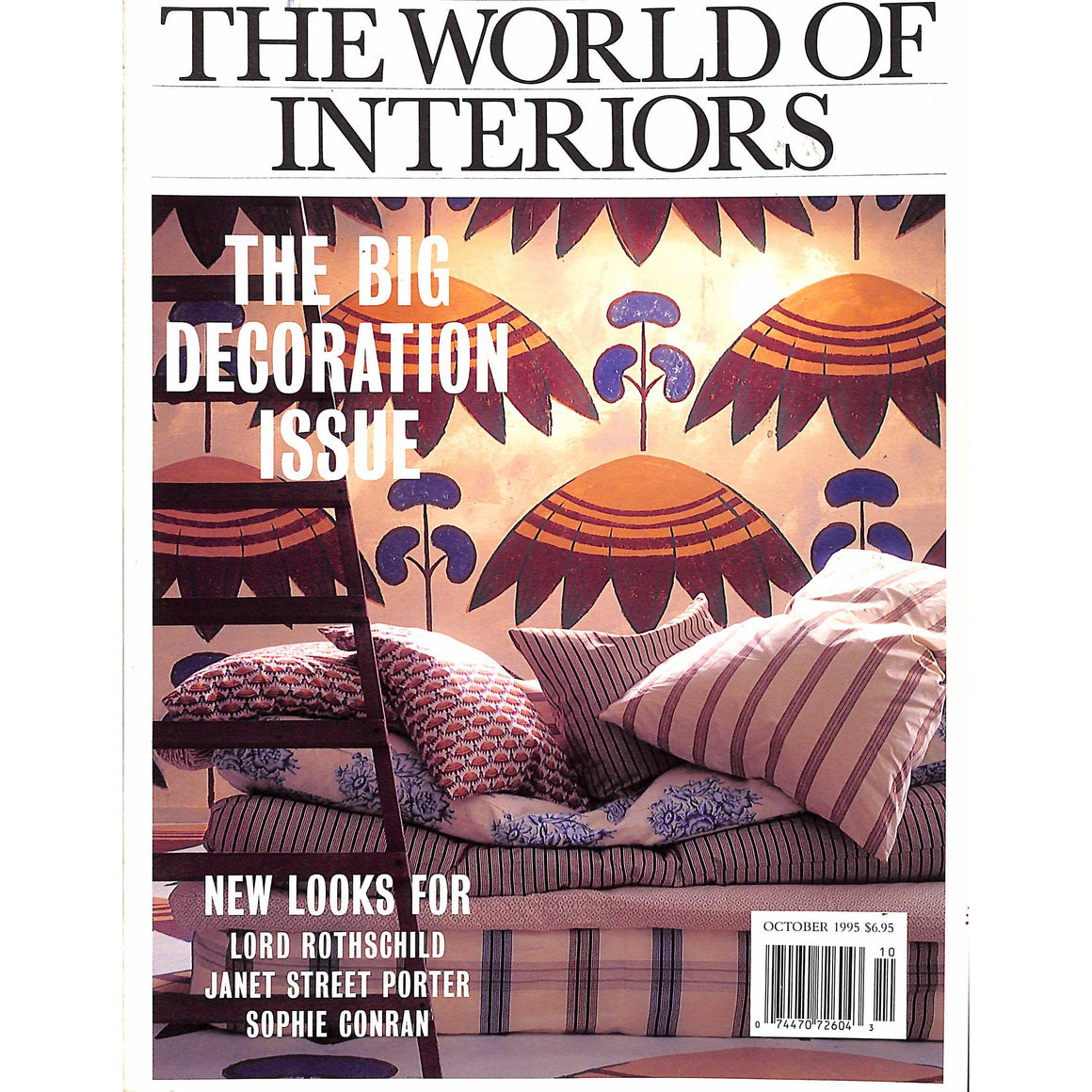 The World of Interiors October 1995