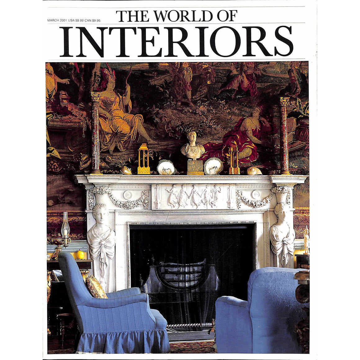 The World of Interiors March 2001