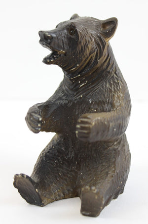 Hand-Carved ADK/ Bavarian Bear