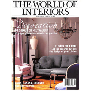 The World Of Interiors February 1996