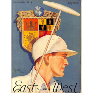 """East versus West"" September, 1934"