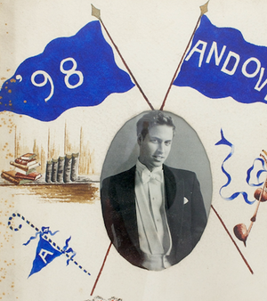 1898 Andover c.1898 Watercolour Banners