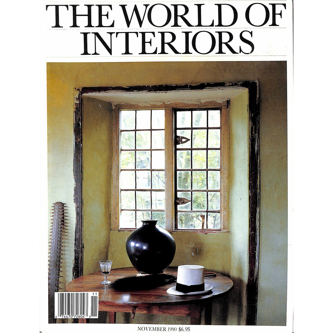 The World of Interiors November 1990