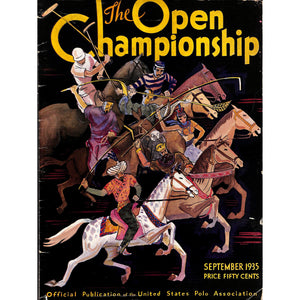 'The Open Polo Championship September 1935'