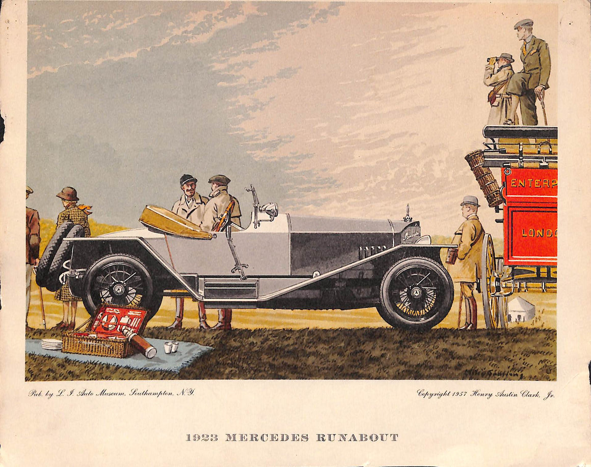 1923 Mercedes Runabout