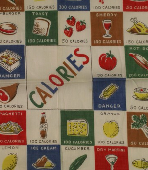 "Calories of Food Pocket 13""Sq"