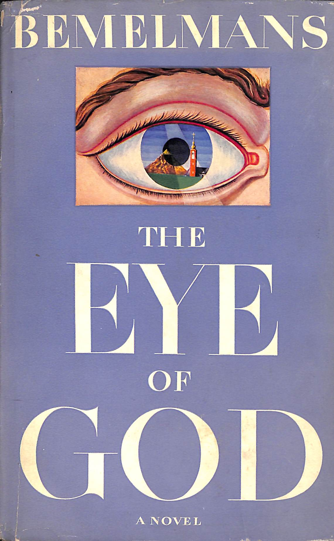 """The Eye of God"" 1949 by Ludwig Bemelmans (Inscribed to Elsa Schiaparelli)"