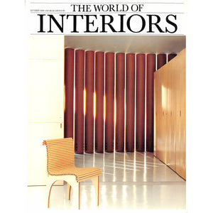 The World Of Interiors October 2000