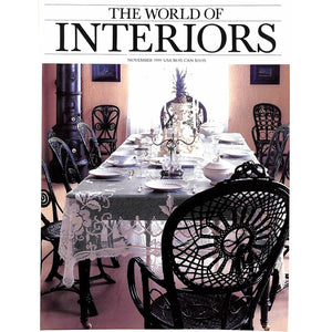 The World of Interiors November 1999 (SOLD!)
