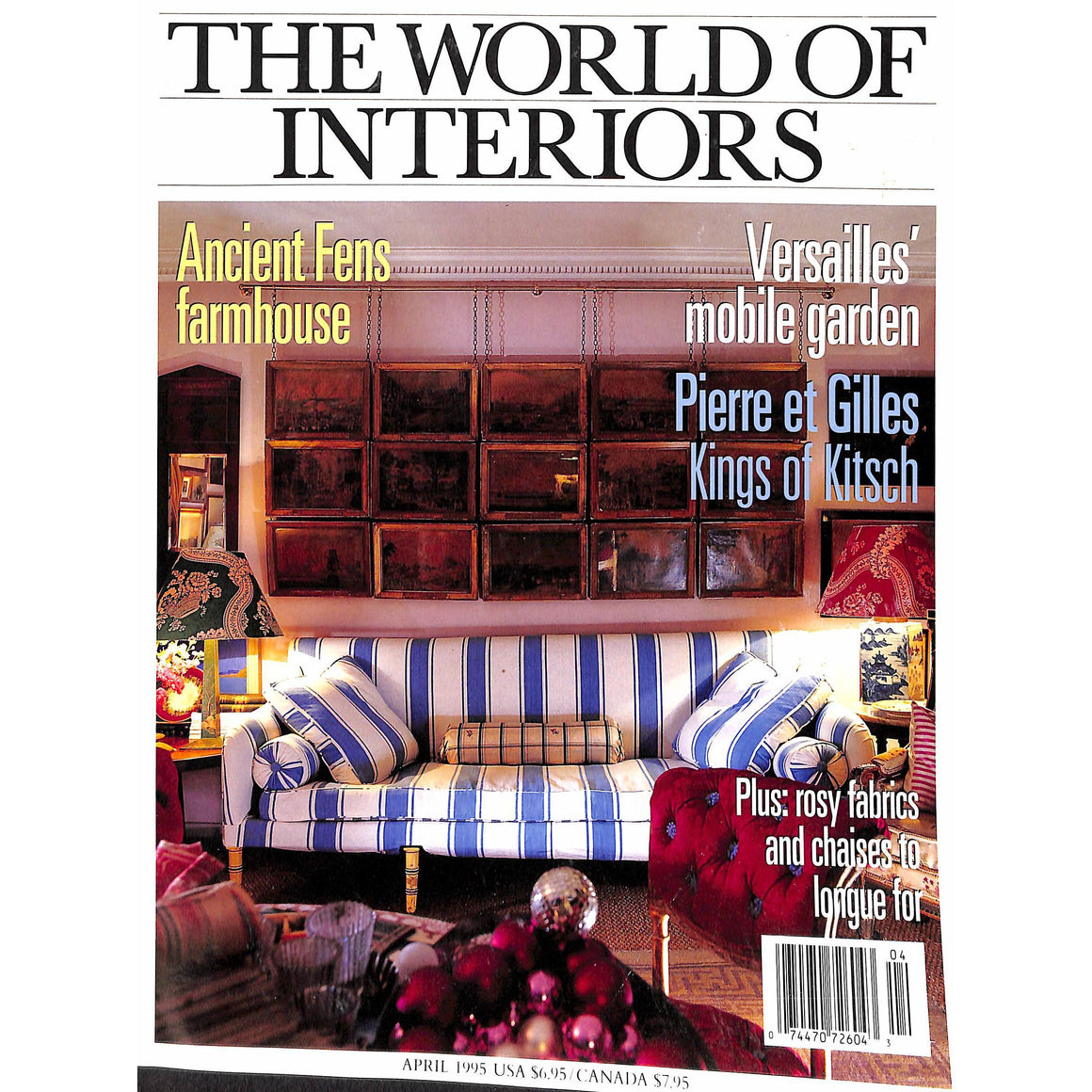 'The World of Interiors April 1995'