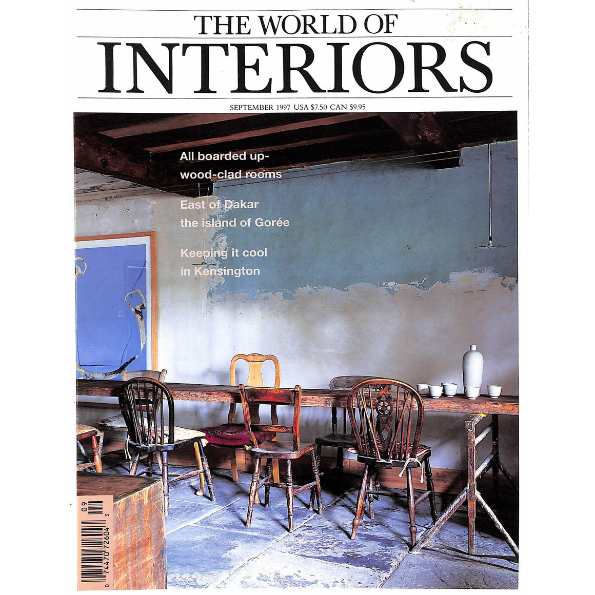 The World of Interiors September 1997 (Sold!)