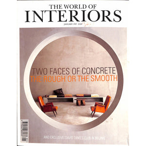 The World of Interiors January 1997