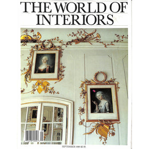 'The World of Interiors September 1989'