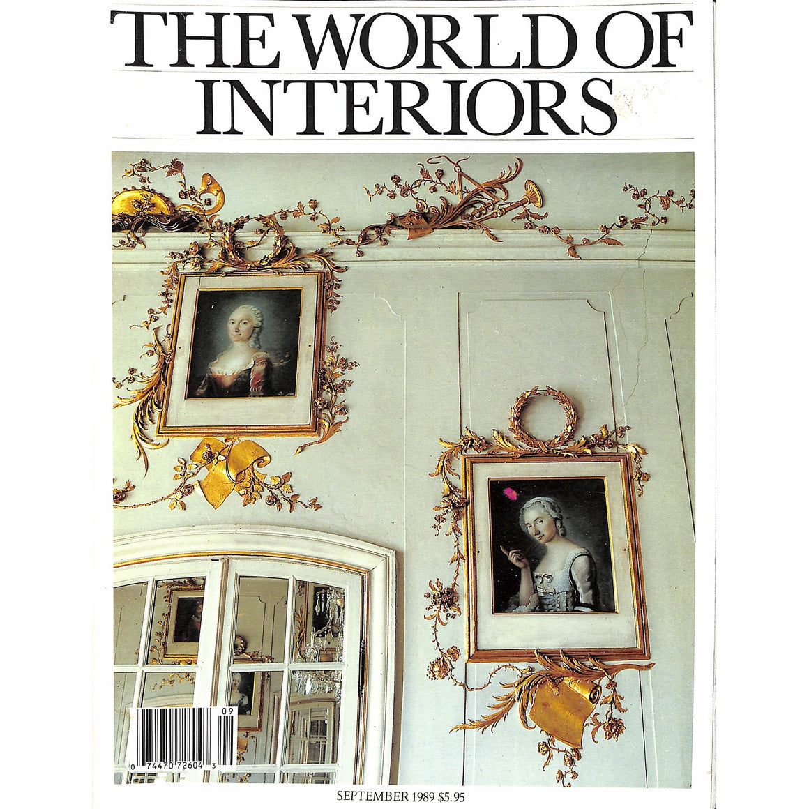 The World Of Interiors September 1989