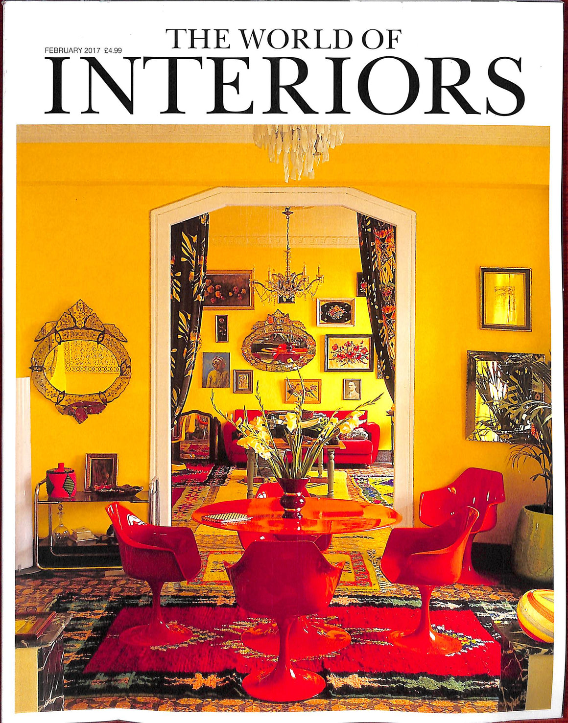 """The World of Interiors"" February 2017 (Sold!)"