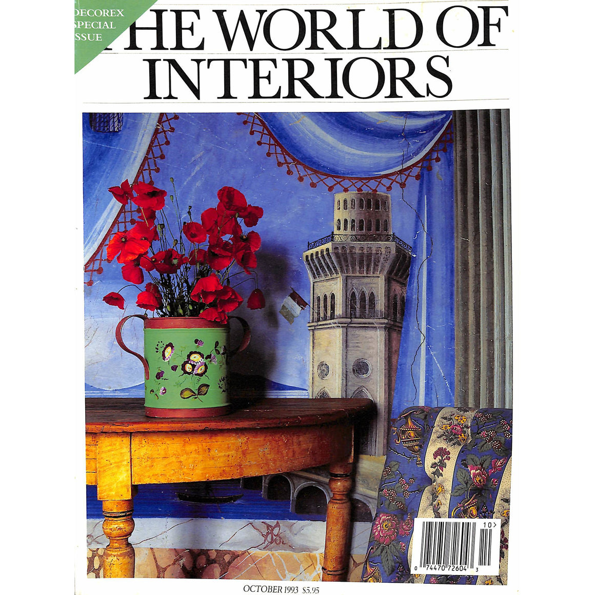 The World Of Interiors October 1993