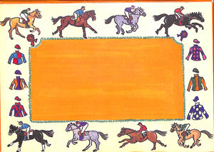 7 Horse Racing Post Cards & Envelopes