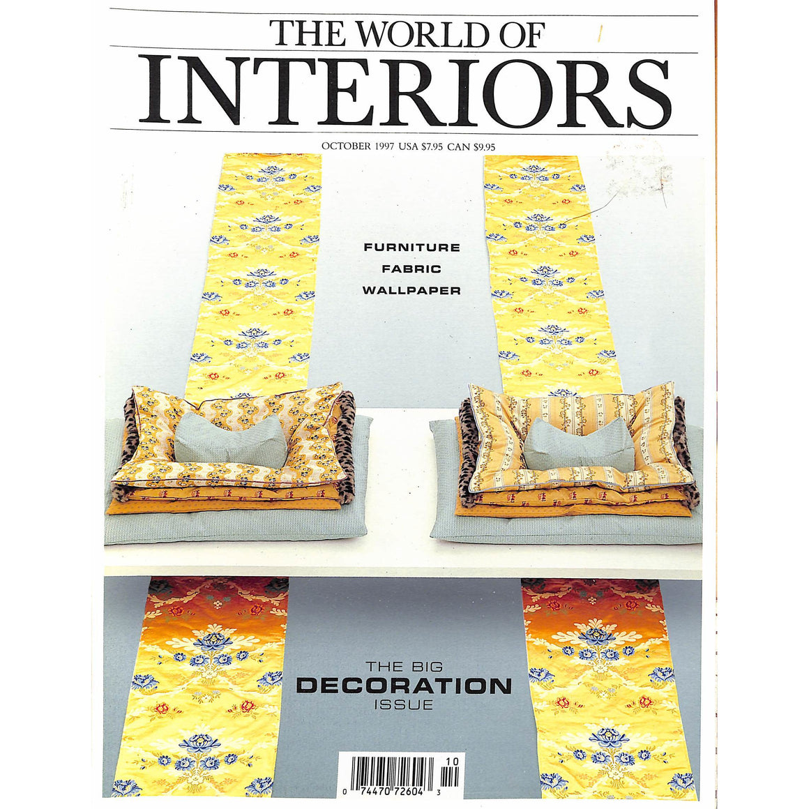 The World of Interiors October 1997