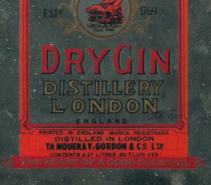 Gordon's Dry Gin Advert Mirror