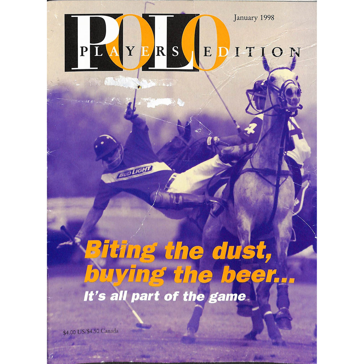 Polo Magazine January 1998