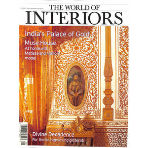 The World Of Interiors August 2003