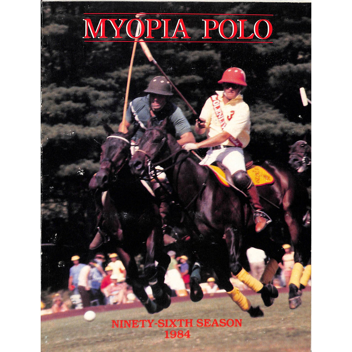 Myopia Polo 96th Season 1984